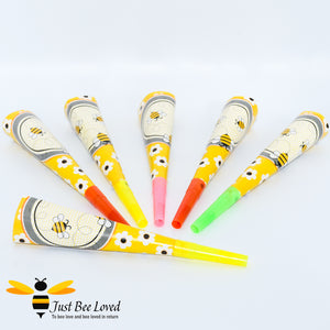 Busy Bee Party Horn Blowers Party Supplies & Fancy Dress