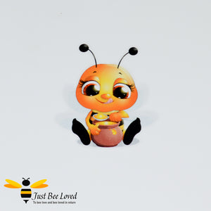 Bumblebee Mini Wall Sticker Bee Party Supplies & Fancy Dress