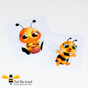 Just Bee Loved Cute Bee Wall Stickers