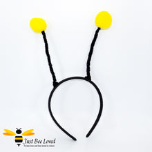 Load image into Gallery viewer, Bumblebee Antennae Headband Fancy Dress Bee Costume