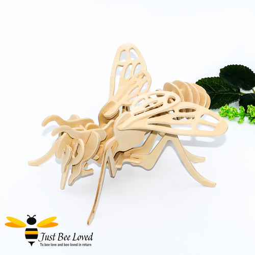 3d wooden honey bee DIY puzzle Kit toy