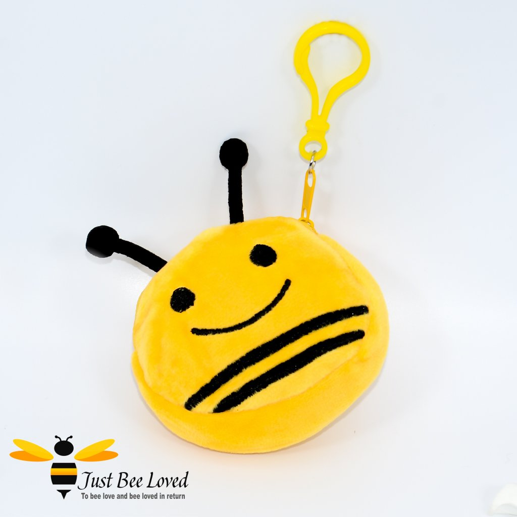 Keychain Mini Bee Pouch Plush Purse