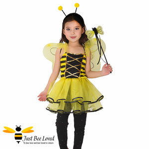 Lovely Bee Fairy 3 Piece Fancy Dress Bee Costume