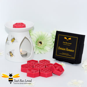 Just Bee Loved Luxury Organic Wax Melts Parisian Romance