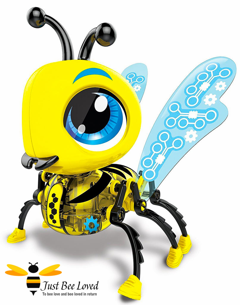 Build a buzzy bee robot toy