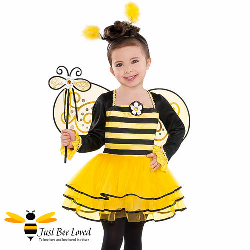 Ballerina Honey Bee 4 Piece Fancy Dress Costume for girl