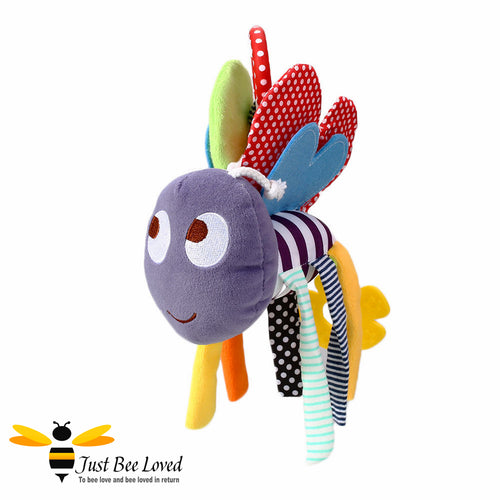 Bee Pushchair Hanging Bee Clip Toy Teether