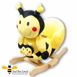 Rock My Baby Musical Bee Rocking Chair
