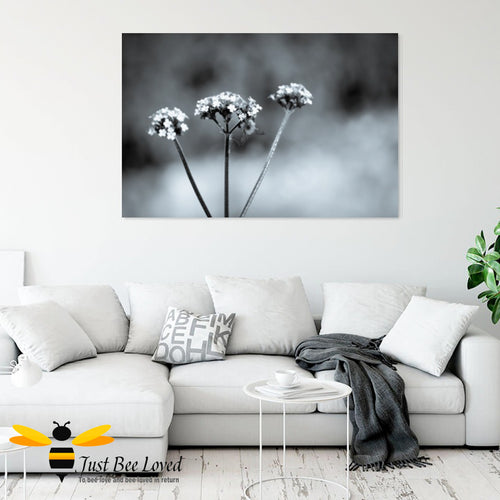 Just Bee Loved Home Decor Large Canvas of Bumblebee Black and white Wall Decor by Landscape & Nature Photographer Yasmin Flemming