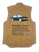 "Load image into Gallery viewer, Carhartt BMW ""Bavarian Cream"" Vest (Brown)"