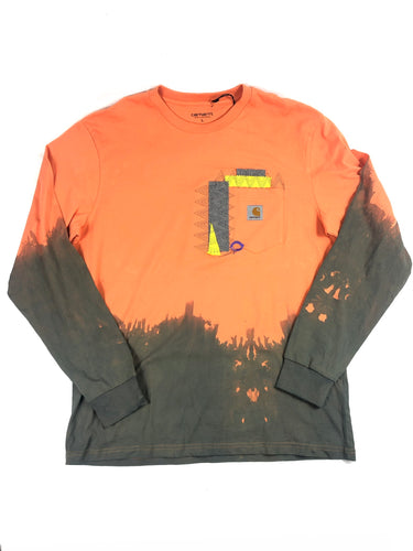 Carhartt Long Sleeve Dip Dyed T-Shirt