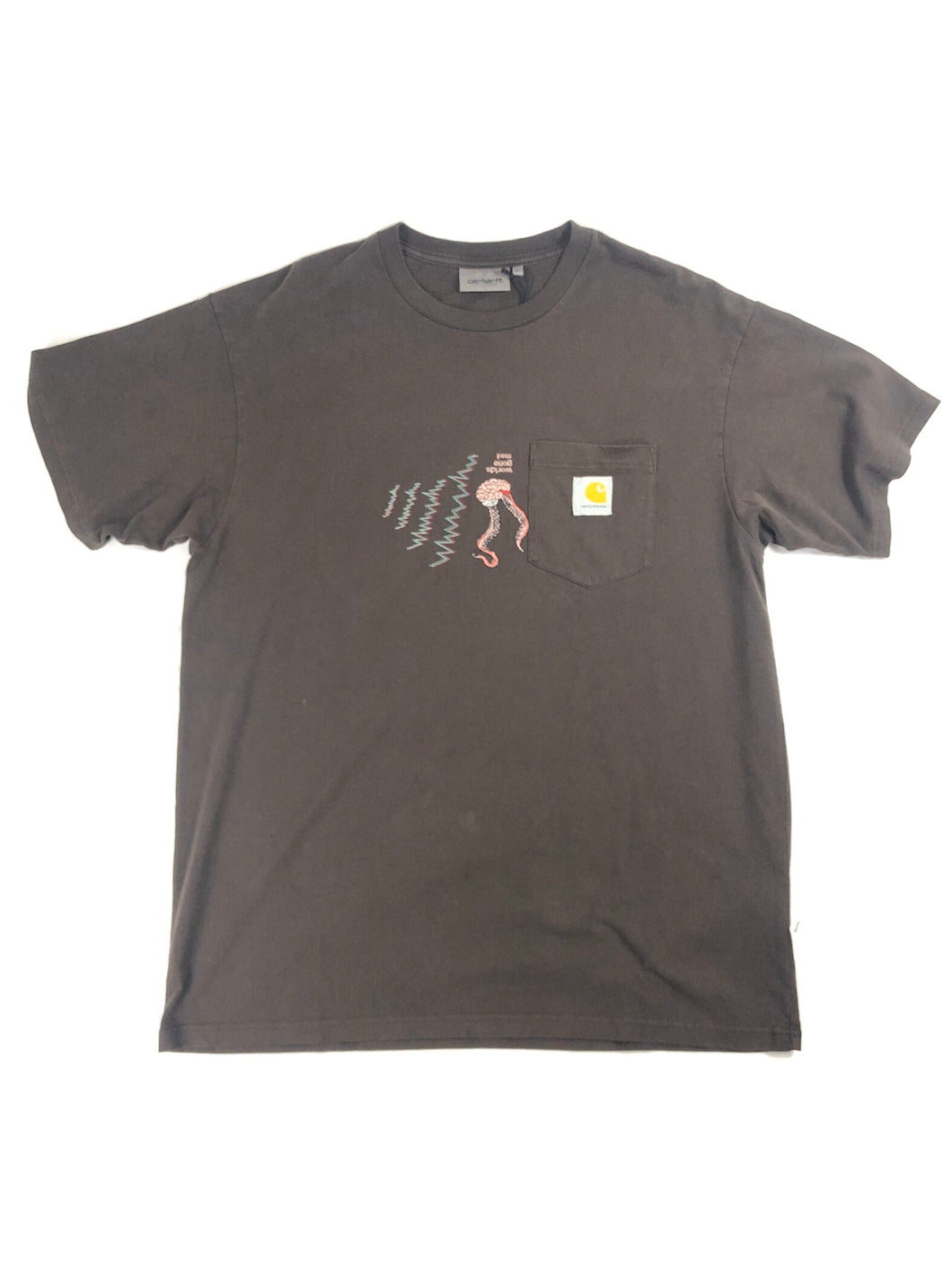 "Carhartt World Gone Mad"" T-Shirt (Brown)"