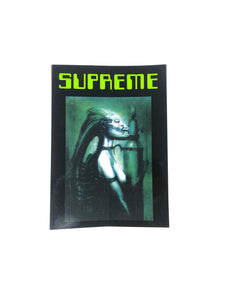 Supreme Giger Sticker