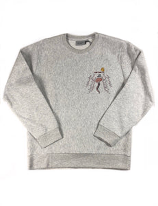 "Carhartt ""World Gone Mad"" Crewneck (Ash)"