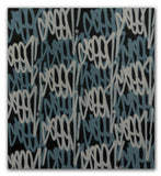 "GRAFFITI ARTIST SEEN  -  ""Grey Tags""  Aerosol on  Canvas"