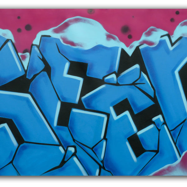 "SEEN -""Frosted Blockbuster""Aerosol Canvas"