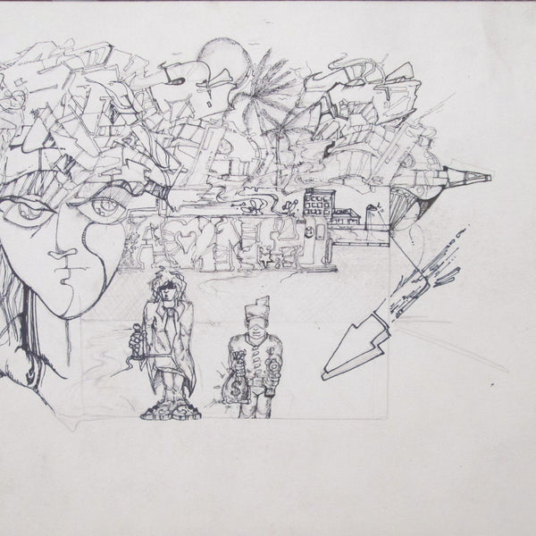 "A-ONE - ""Oasis"" Drawing"