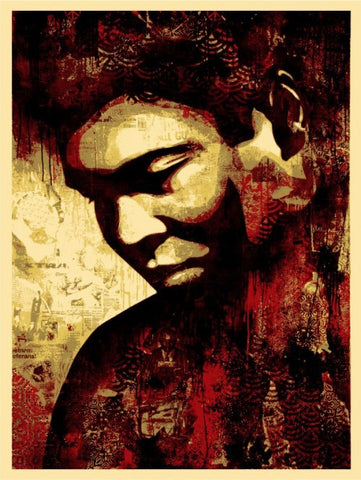 "SHEPARD FAIREY - ""ALI  Canvas Print"""
