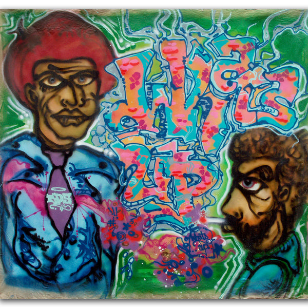 "A-ONE - ""What's Up""- Painting (1990)"