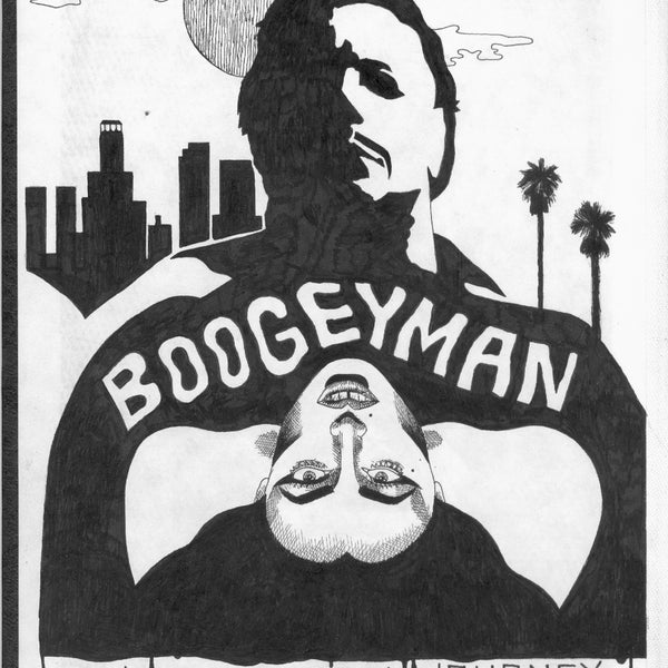"ALBERT REYES - ""Boogeyman ""Drawing"