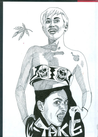 "ALBERT REYES - ""Miley ""Drawing"