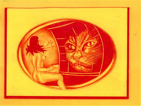"ALBERT REYES -  ""Cats Eyes"" Print"