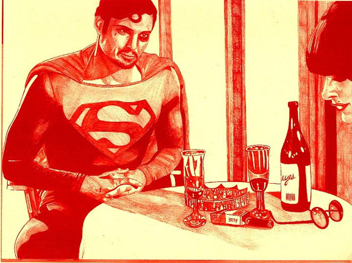 "ALBERT REYES -  ""Superman""  Print"