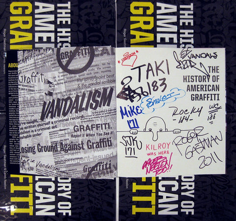 THE HISTORY OF AMERICAN GRAFFITI - SIGNED