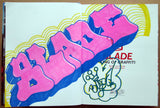 "BLADE - ""King of graffiti"" Custom Book Drawing 13"