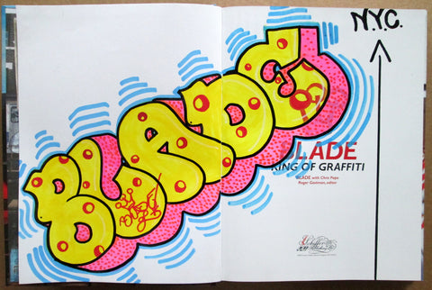 "BLADE - ""King of graffiti"" Custom Book Drawing 14"