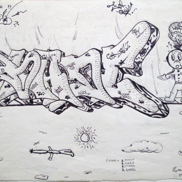 "BLADE - ""For QUIK"" -  Drawing 1983"