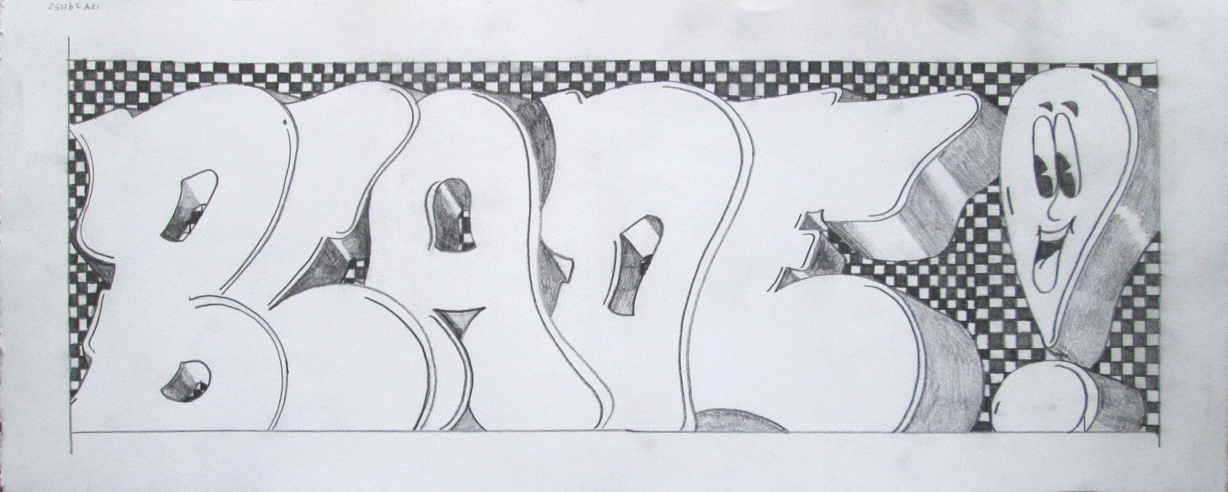 "BLADE  ""Bladeclamation"" Drawing"