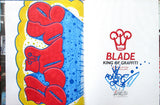 "BLADE - ""King of graffiti"" Custom Book Drawing 4"