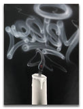 "CES ONE ""Smoke1 (candle)"" Painting"