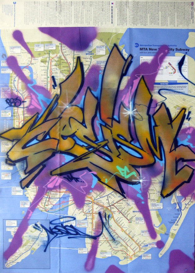"CES-ONE -  ""Untitled"" NYC Map"