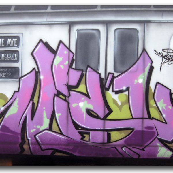 "CES ONE ""Wish Train"" Painting"