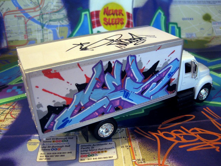 "CES ONE - 8"" DIY Box Truck- Painted"