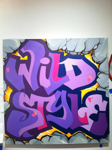 "CEY -  ""WildStyle""  Painting"
