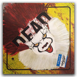 "CHINO MALO ""Dead End "" Painting on Metal Sign"