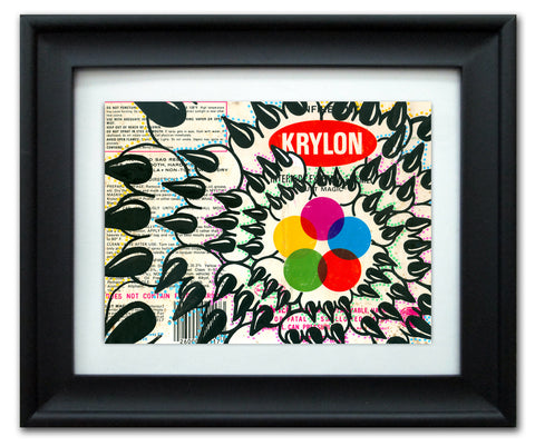 "CLAW  -  ""Krylon"" Vintage Label"