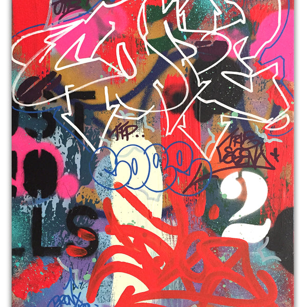 "COPE2  ""Bronx Truth"" Painting"