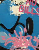 "COPE2 - ""Post No Bills Blue"" Painting"