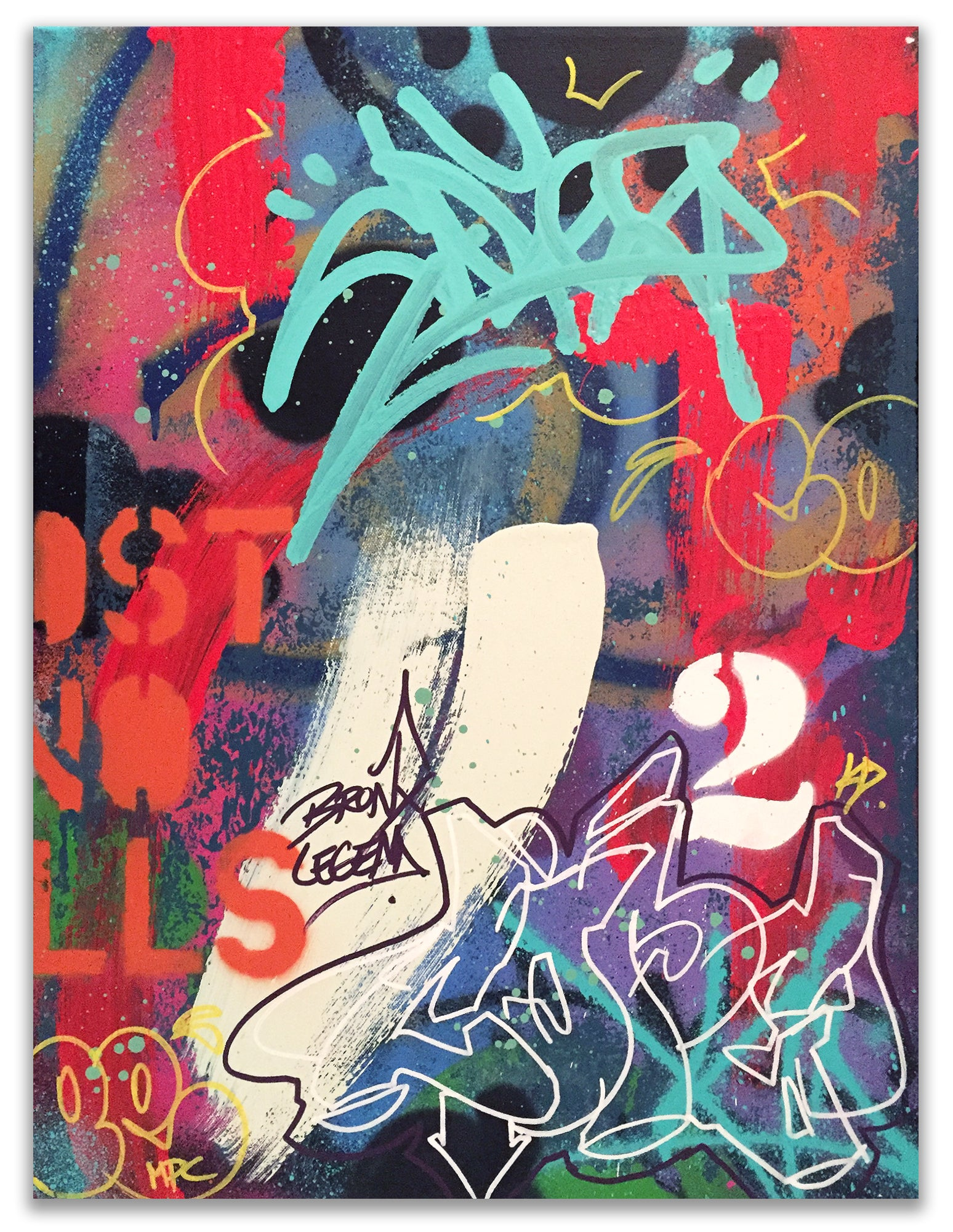 "COPE2  ""Bronx Legend"" Painting"