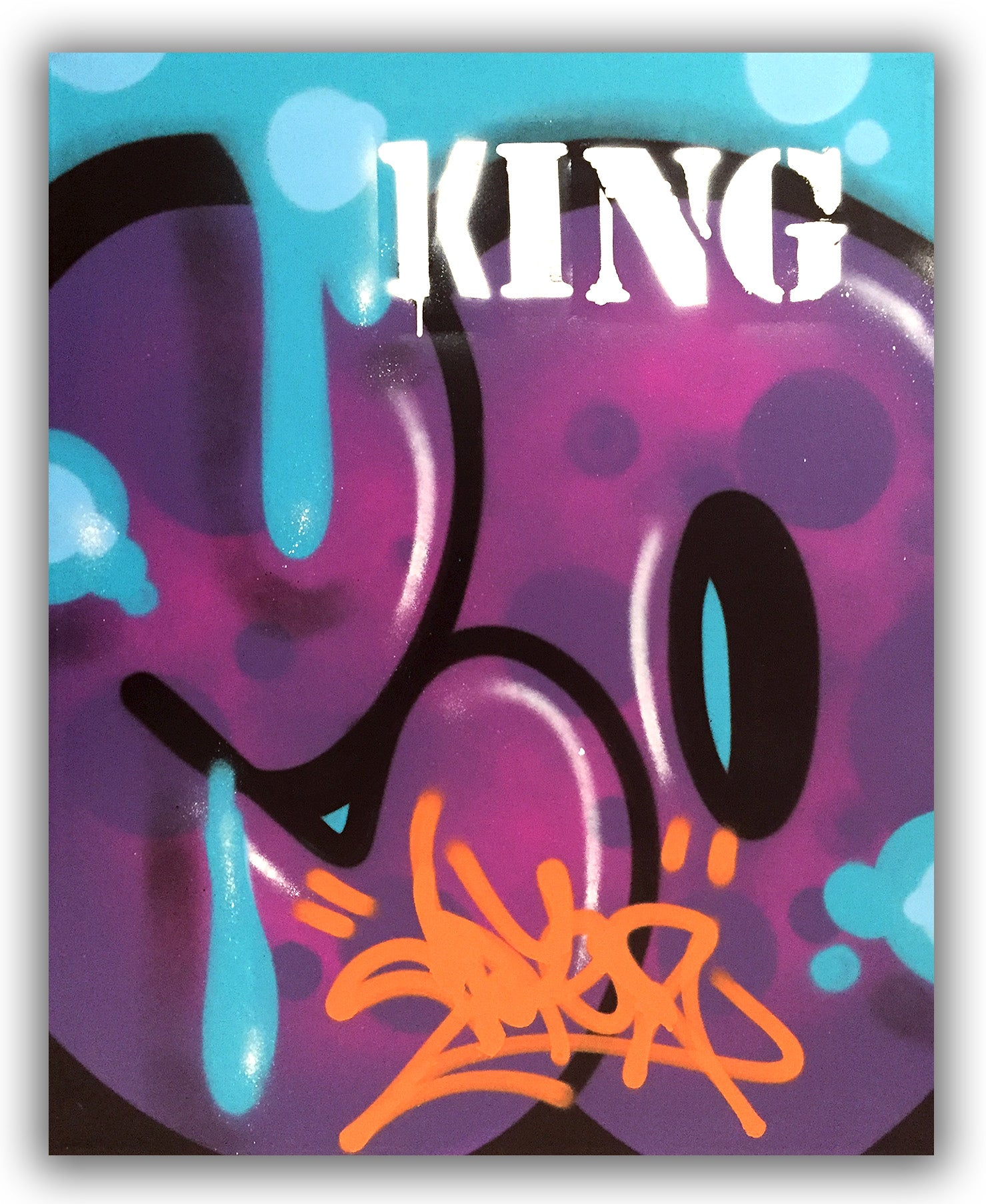 "COPE2 - ""King"" 24"" x 30"" Painting"