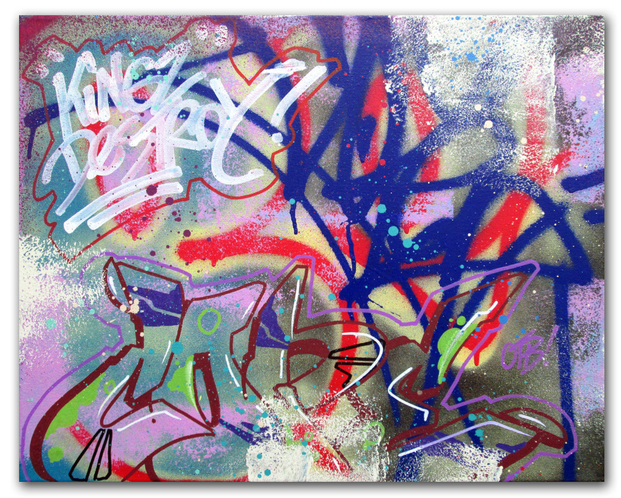 "COPE 2 - ""Kingz destroy 4"" Painting"