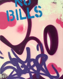 "COPE2 - ""Post No Bills Pink"" Painting"
