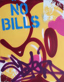 "COPE2  ""Post No Bills Yellow"" Painting"