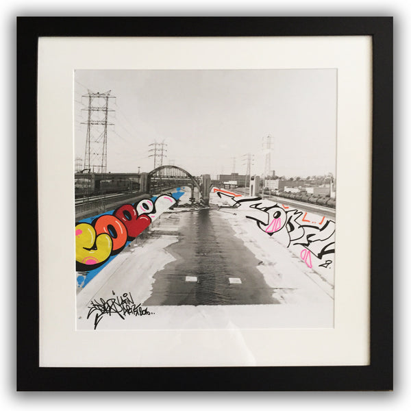 "COPE2 - ""Photograff #12"" Painting on Photo"