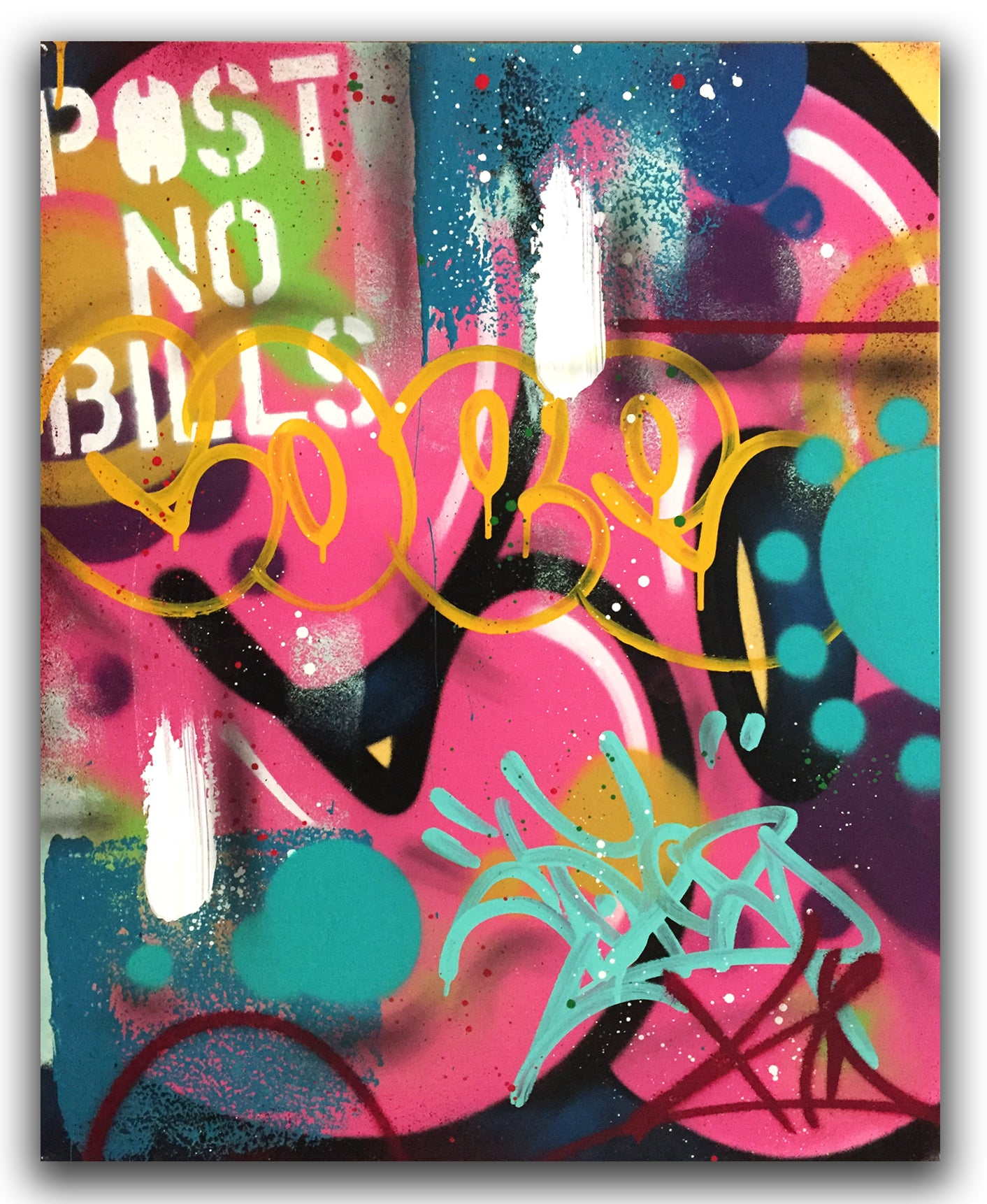 "COPE2 - ""Post No Bills"" Painting"