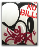 "COPE2  ""Post No Bills Silver"" Painting"